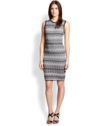 M Missoni Knit Tie-Dye Dress - Lyst
