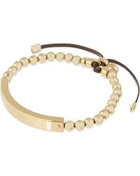 Michael Kors Plaque Stretch Bracelet - For Women - Lyst