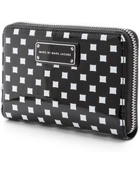 Marc By Marc Jacobs Techno Block Print Mildred Wallet - Lyst