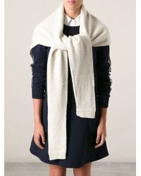 Christophe Lemaire - Shaped Scarf - Lyst