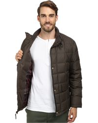 Cole Haan Down Jacket W/ Box Quilt - Lyst