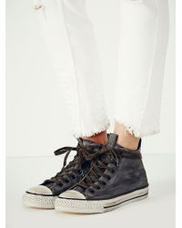 Free People Jv Mid Top Chucks - Lyst