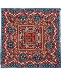 Athena Procopiou - Multicolour Indian Summer Modal And Cashmere-Blend Scarf - Lyst
