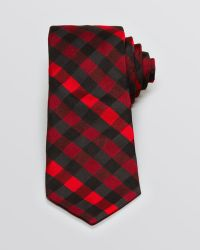 Ted Baker Gingham Plaid Classic Tie - Lyst