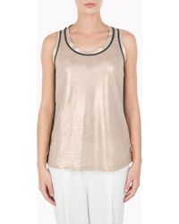 Brunello Cucinelli Top - Lyst