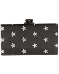 Edie Parker Jean Stars Box Clutch - Lyst