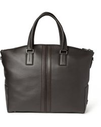 Tod's | Fullgrain Leather Holdall Bag | Lyst