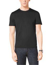 Michael Kors Cotton-Jersey Crewneck T-Shirt - Lyst