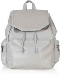 Topshop   Perforated Backpack   Lyst