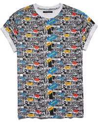 21men Comic Print Tee - Lyst