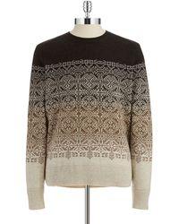Victorinox - Merino Wool Ombre Jumper - Lyst