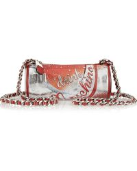 Moschino Drink Printed Leather Shoulder Bag - Lyst