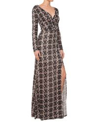 Ella Moss Joella Wrap Maxi Dress - Lyst