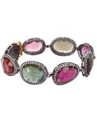 Socheec - Tourmaline And Diamond Bracelet - Lyst