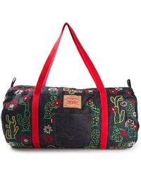 Levi's Vintage Clothing Cactus Embroidered Denim Holdall - Lyst
