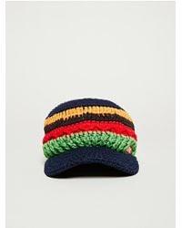 Chums - Border Work Knit Hat - Lyst