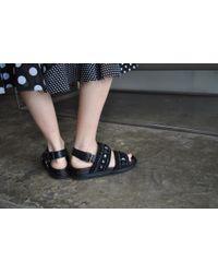 Marni | Jeweled Flats, Black | Lyst