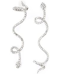Luxury Fashion Dropped Serpent Earrings - Lyst