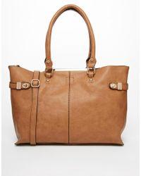 Oasis Shaye Shopper Bag - Lyst