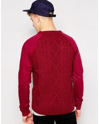 Firetrap - Cable Knit Jumper - Lyst