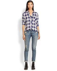 Rails Hunter Plaid Flannel Shirt - Lyst