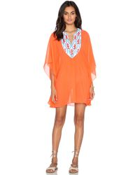 Pia Pauro - Embroidered Caftan - Lyst