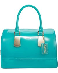 Furla Candy Satchel with Hardware - Lyst