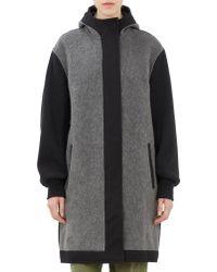 Etoile Isabel Marant Wool Blend Clayton Coat - Lyst