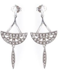 V Jewellery - Sanea Earrings - Lyst