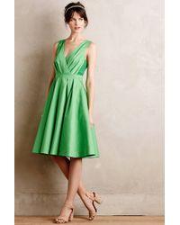 Collette Dinnigan - Pleated Trellis Dress - Lyst