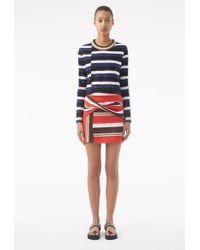 3.1 Phillip Lim - Wrapped Miniskirt - Lyst