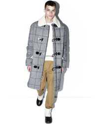 3.1 Phillip Lim - Quilted Toggle-button Coat - Lyst