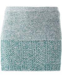 Acne Studios 'Hanna' Knit Skirt - Lyst