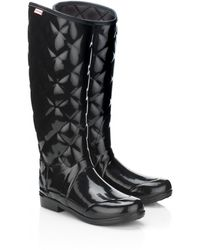 Hunter Sandhurst Savoy Wellie - Lyst