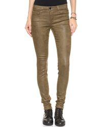 Joe's Jeans Coated Skinny Crackle Jeans  - Lyst