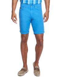 Hugo Boss Maine Shorts  Regular Fit Cotton Shorts - Lyst