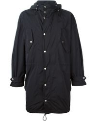 DSquared² Hooded Shell Parka - Lyst