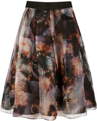 Ted Baker Blooms Of Enchantment Skirt - Lyst