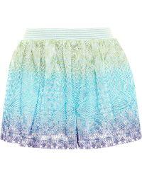 Missoni Lurex Jacquard Shorts - Lyst