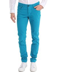 Ikks Turquoise Slim Jeans blue - Lyst