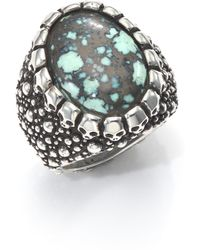 King Baby Studio   Stingray Turquoise & Sterling Silver Ring   Lyst