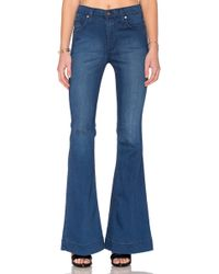 James Jeans | Shayebel High Rise Flare Legging | Lyst