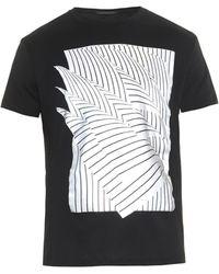 Christopher Kane Geometric Paper-print T-shirt - Lyst