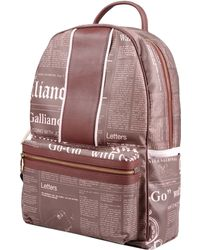John Galliano Backpacks  Fanny Packs - Lyst