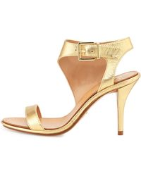 Vince Camuto Signature | Pikora Leather Ankle-wrap Sandal Pump | Lyst