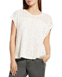 Two By Vince Camuto - Crochet Top - Lyst