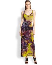 Jean Paul Gaultier Palmprint Maxi Dress - Lyst