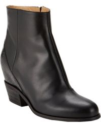 MM6 by Maison Martin Margiela Hidden-Wedge Ankle Boots - Lyst