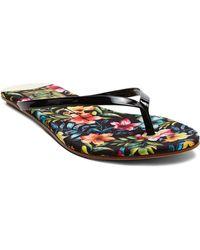 DV by Dolce Vita Flip Flop Sandals - Derika Floral - Lyst