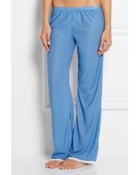 Cheek Frills - Modal-jersey Pajamas - Lyst